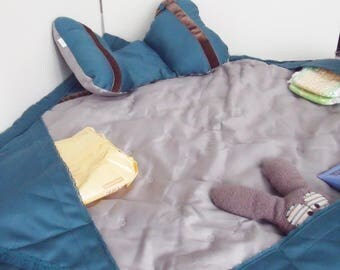 Changing pad Nomad 3 in 1 cobalt blue