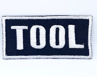868# TOOL Punk Rock Music Metal EMO Goth Embroidered Iron/Sew on Patch