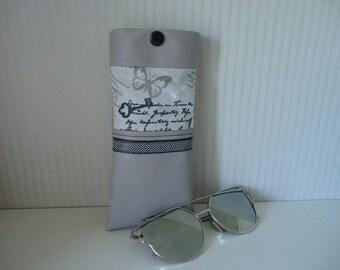 Men/women glasses case