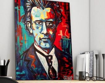 Mahler Canvas Print
