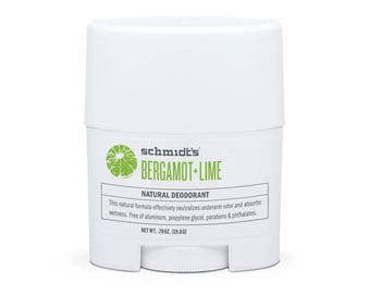 Bergamot + Lime Travel-Size Stick (.7 oz.) - Schmidt's Natural Deodorant