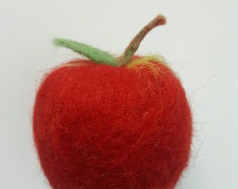 Cold Process Felted Soap - Apple