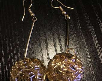 Fashion Hipster earrings- ball earrings