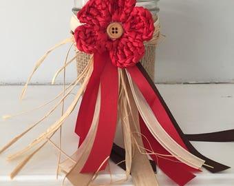 Decorative party Jars, Moana party, luau party supplies, first birthday, beach wedding, Disney Moana