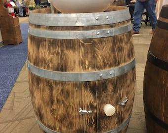 Wine Barrel Decor Etsy
