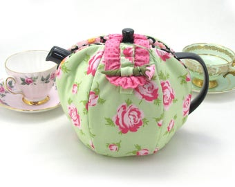 Mint Rose Hob Tea Cozy ( Cosy )