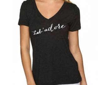 Lab'adore tee