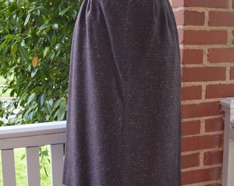 1970s vintage Pendleton wool skirt