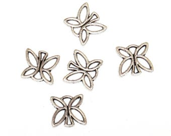 Set of 7 charms Butterfly charms