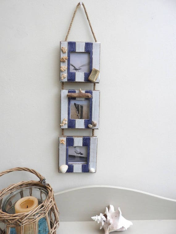 d coration murale style bord de mer porte photos mural. Black Bedroom Furniture Sets. Home Design Ideas