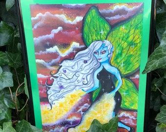 Fairy Painting A4 Frame
