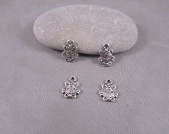 10 charms, little cat 12mm O96