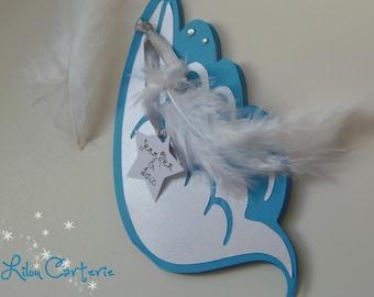 Angel Wings wedding invitation