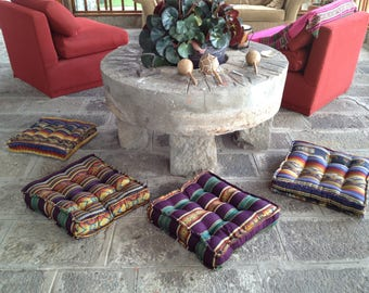CUSHIONS LOUNGE:COUSSINS OF SOIL IN COTTON TAILORED