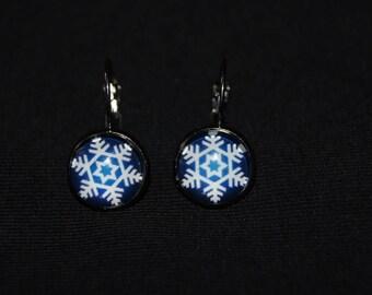 Earrings snowflake earrings
