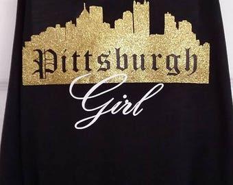 Pittsburgh Girl tank
