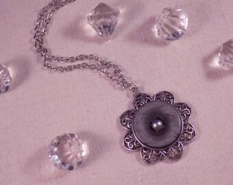 Creat flower Medallion ' Y. O.N - unique & cute-