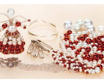 HANGING ANGELS FOR YOUR CHRISTMAS TREE BEADS