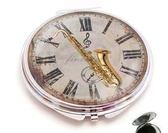 mirror jazz saxophone