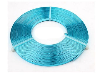 A roll of 10 meters of 5mm flat wire