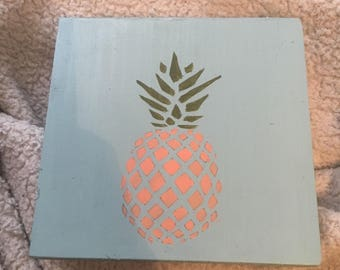 Pineapple Wall Hanging
