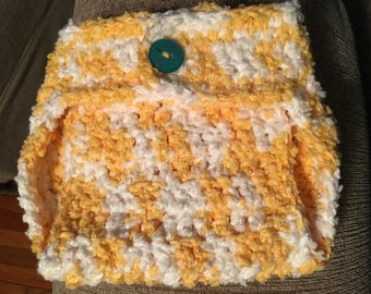 Crocheted Baby Diaper Cover