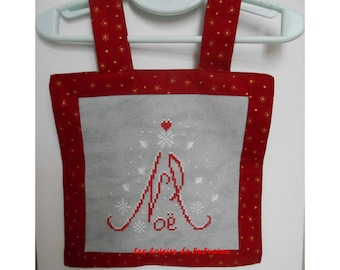 embroidered and fully lined by hand painting
