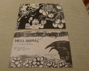 MECCA NORMAL Lot of (2) magazine clippings