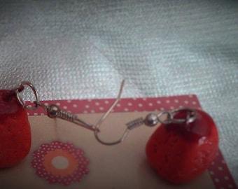 Leo candy earrings