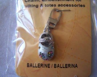 Pull for zipper pattern ballerina (90720)