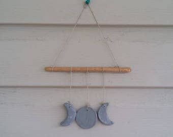 Triple Moon Wall Hanging