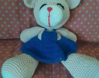 Pink Teddy bear Plushie.