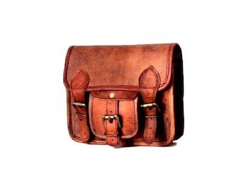 Small leather shoulder bag, purse, bag, brown leather bag, leather bag, bag