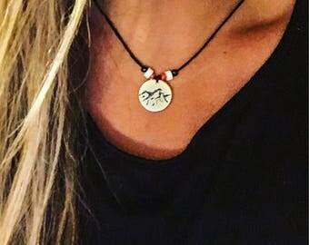 Custom charm necklace