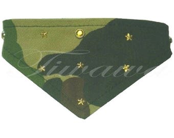 """Stars"" for small dog and cat bandana"