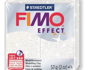 Fimo Effect 57 g - white metallic N 52 - Ref 68020052 - while quantities last!