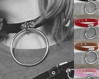 Necklace colors leather Bangle
