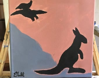 Prehistoric Silhouette