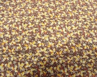 liberty cotton fabric - MULTICOLORED