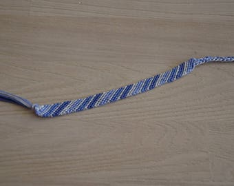 Friendship Bracelet, blue friendship bracelet
