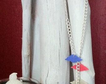 Necklace on a cloud bird