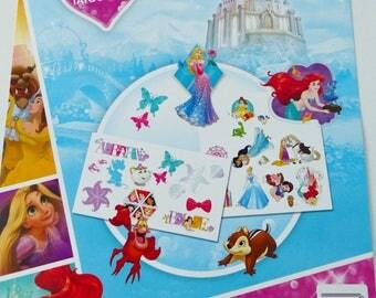 25 temporary tattoo radio tattoos of your favorite cartoon princesses Disney princesses