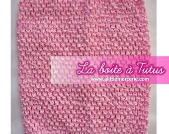Girl ★ ★ 7/8/9/10 years stretch crochet tutu dress strapless ROSE