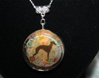 resin Greyhound jewelry
