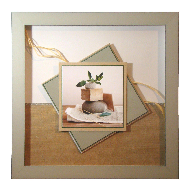 cadre tr s zen pour une salle de bain ou autre. Black Bedroom Furniture Sets. Home Design Ideas