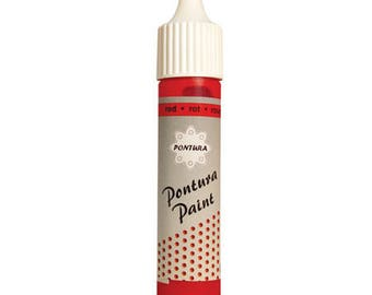 Terrain Pontura rouge_PON08 10ml tube