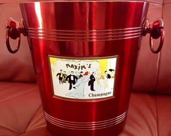 MAXIM's Paris champagne bucket