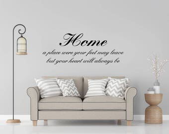 Home, Home Decor, Wall Decal, Home quote, Decals