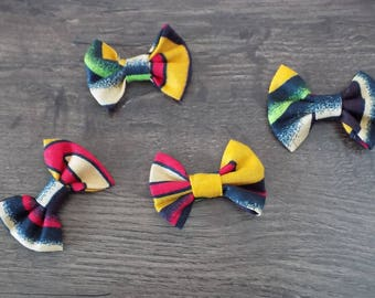 set of four knots African fabrics