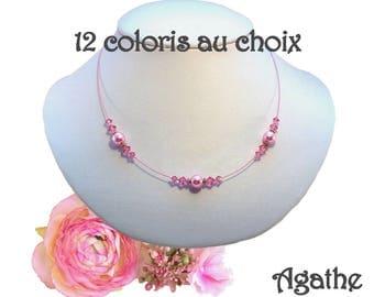 Necklace romantic Agathe